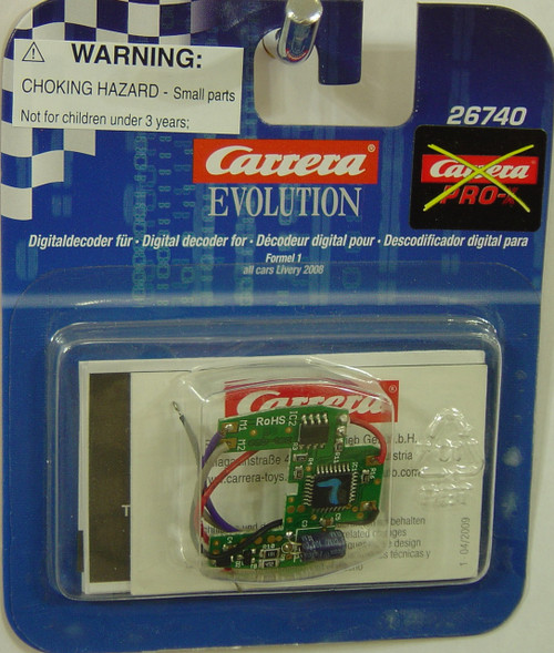 26740 Carrera Evolution 1/32 Digital Conversion Chip for Formula 1 1/32 Digital Slot Cars