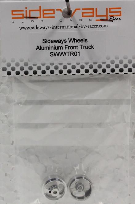 SWW/TR01 Racer Sideways Aluminum Front Wheels for Fly Trucks
