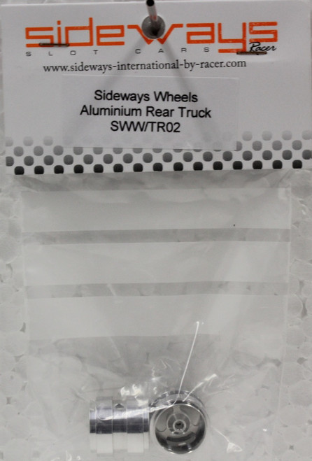 SWW/TR02 Racer Sideways Aluminum Rear Wheels for Fly Trucks