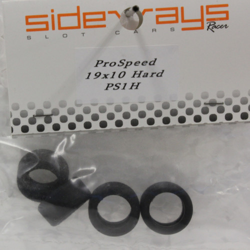PS1H Racer Sideways Hard Rubber Tires 19 x 10mm
