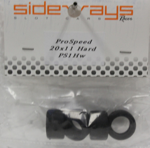 PS1HW Racer Sideways Hard Rubber Tires 20x 11mm