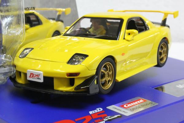 31004 Carrera Digital 132 Mazda RX-7 FD3S Yellow - Japanese Edition 1:32 Slot Car