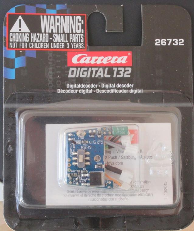 Carrera 26732 Digital Decoder Conversion Chip for 1/32 Slot Cars