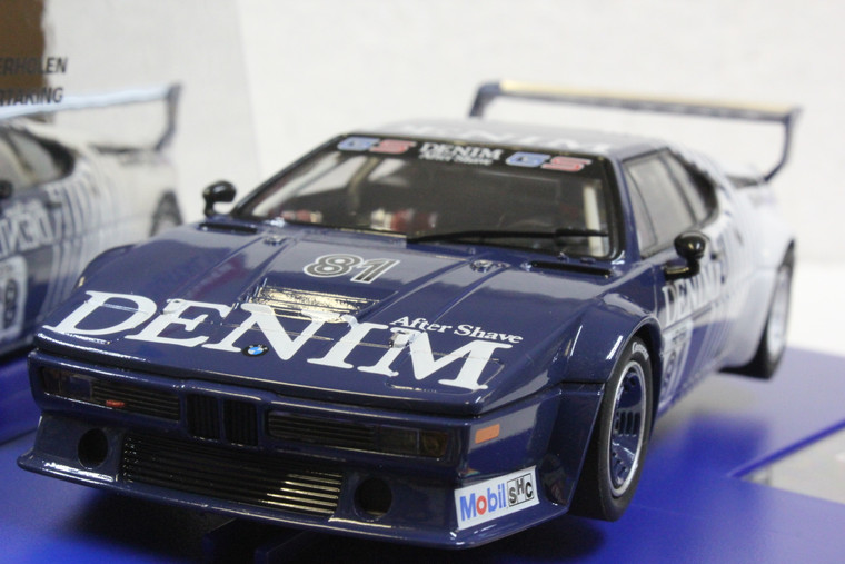 30925 Carrera Digital 132 BMW M1 Procar Denim 1980 w/lights, #81 1:32 Slot Car