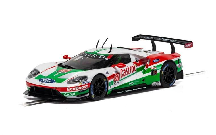 C4151 Scalextric Ford GT GTE - Daytona 2019 - Castrol, #67 1:32 Slot Car *DPR*