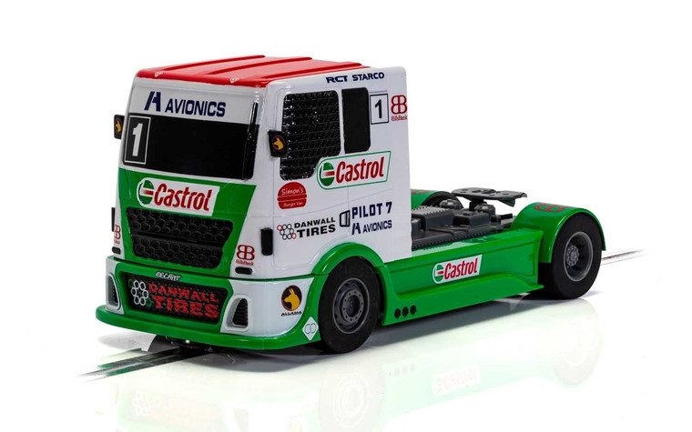 C4156 Scalextric Racing Truck - Castrol, #1 1:32 Slot Car *DPR*