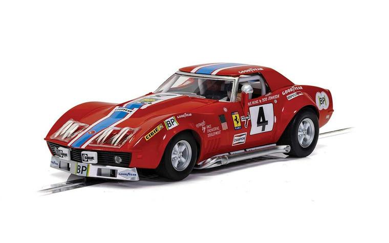 C4215 Scalextric Chevrolet Corvette L88 - LeMans 1972 - NART, #4 1:32 Slot Car