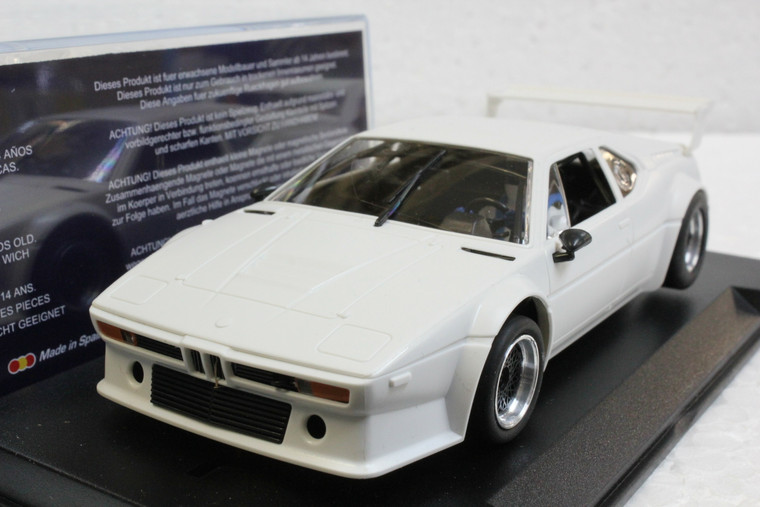 FK2003SP Fly Racing Edition BMW M1 Sport White 1:32 Slot Car