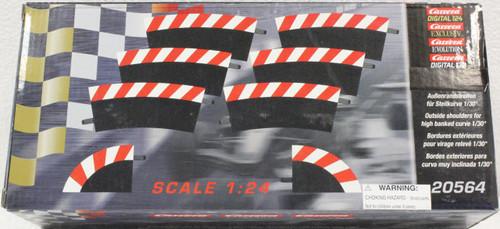 Carrera 20567 Bordures Extérieures Courbe Radius 1 30° x6