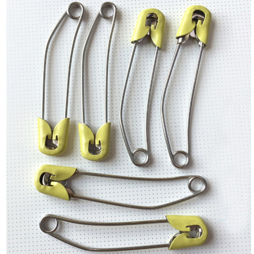 6 Large Adult Nappy / Diaper Pins
