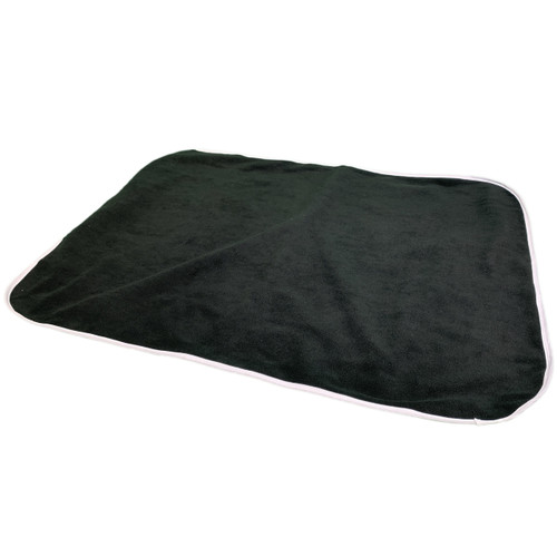 Cuddlz Black Fleece Adult Baby ABDL Extra Large Size Changing Mat