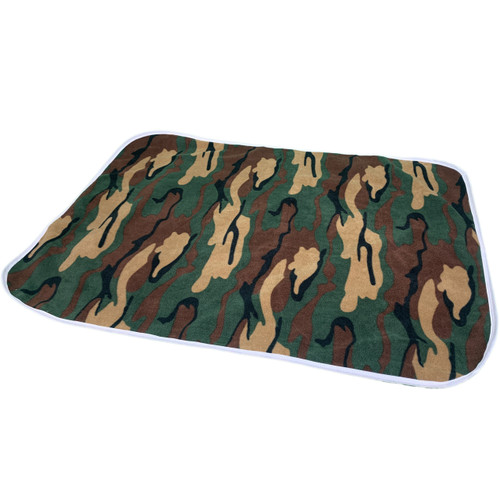 Cuddlz Green Camouflage Pattern Adult Baby ABDL Extra Large Size Changing Mat