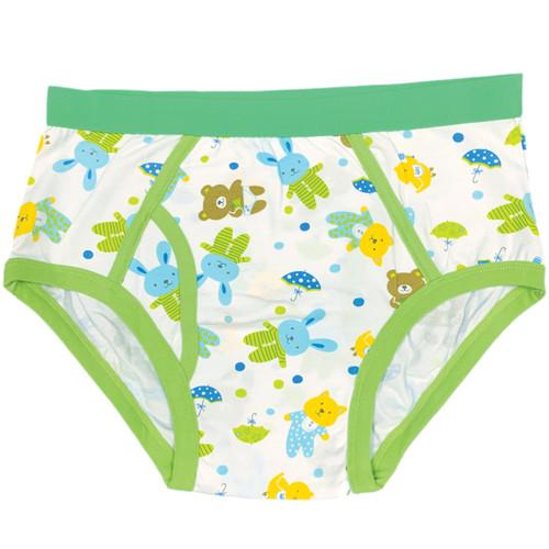 Cuddlz Boys Teddy Bear pattern adult sized mens cartoon underpants briefs y-fronts