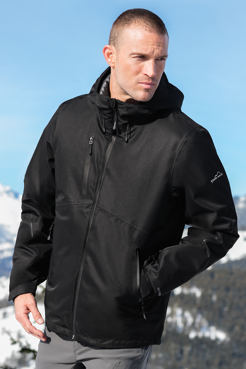 73d489236 Eddie Bauer® Black WeatherEdge® Plus 3-in-1 Jacket