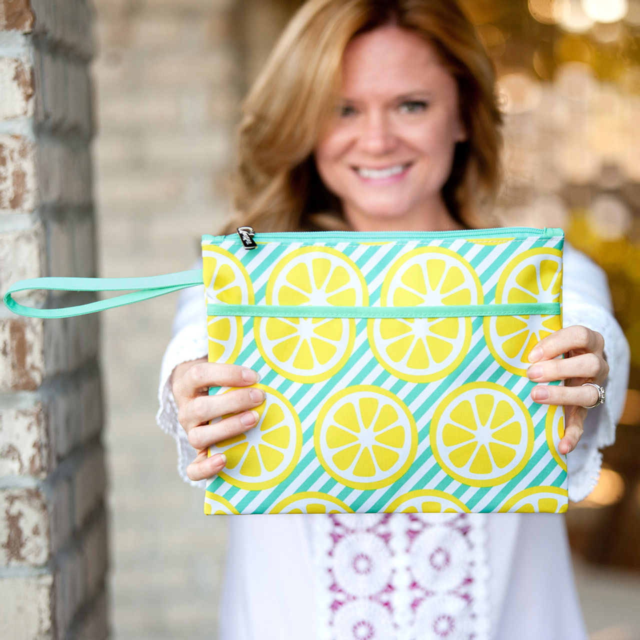 fabee58ab7bb Main Squeeze Zip Pouch Wristlet - Studio 360 Apparel ~ Tees & More