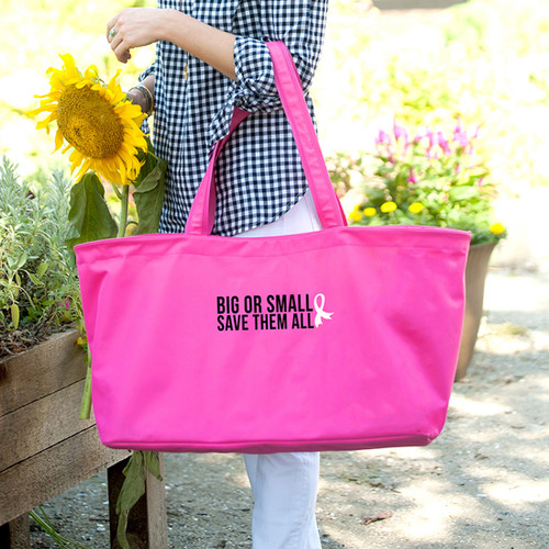 Big Or Small, Save Them All Hot Pink Ultimate Tote