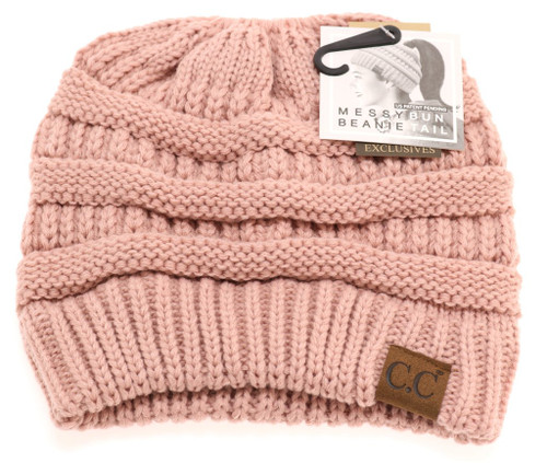 ROSE SOLID CLASSIC CC BEANIE TAIL
