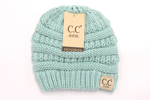 MINT BABY SOLID CC BEANIE