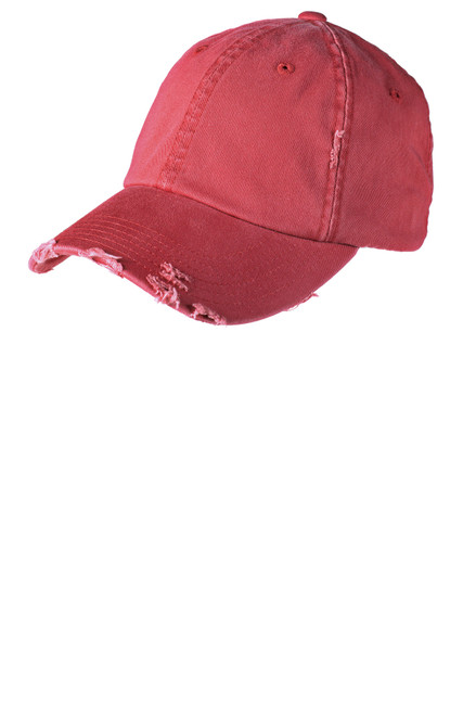 Red District ® Distressed Cap