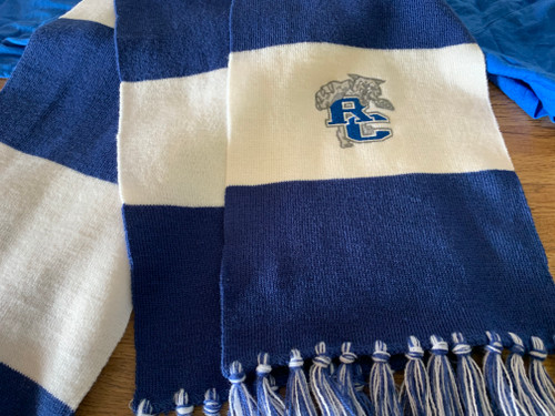 Rockbridge County Wildcats Scarf