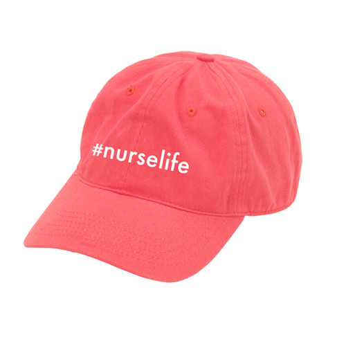#Nurselife Coral Cap