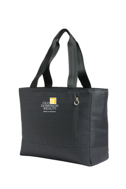 Old Dominion Ladies Laptop Tote - Dark Charcoal