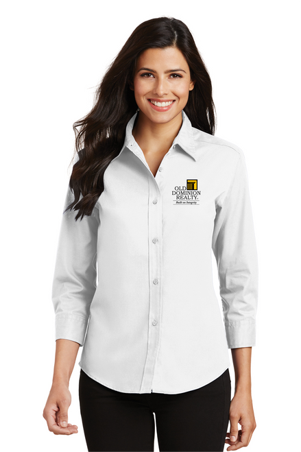 Old Dominion Ladies 3/4-Sleeve Easy Care Shirt