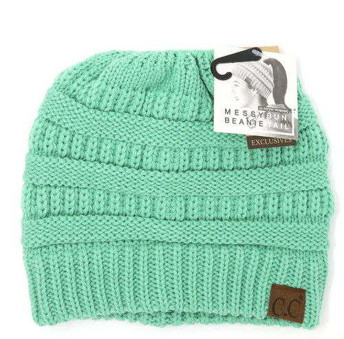 SOLID CLASSIC CC BEANIE TAIL-SAGE