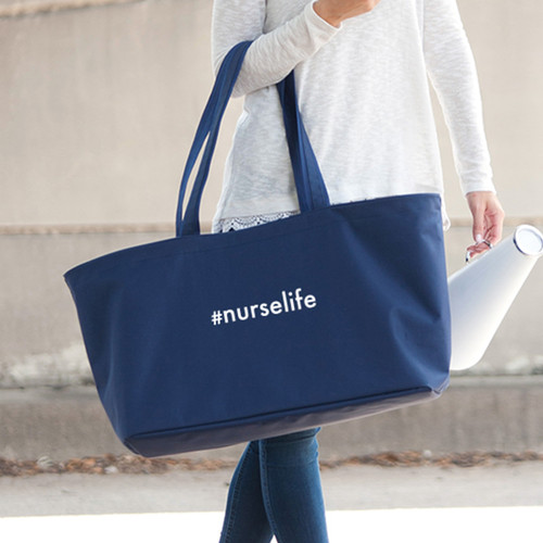 #Nurselife Navy Ultimate Tote
