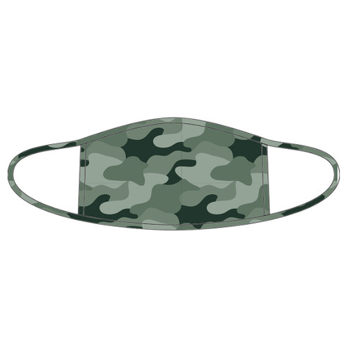 Camo Adult Face Mask - 3 Left!