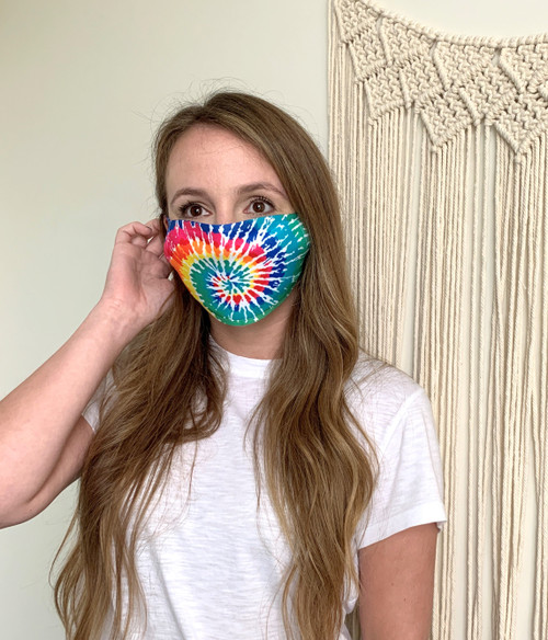 Tie Dye Adult Face Mask - 4 Left!