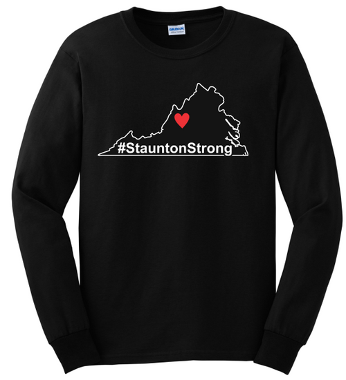 #StauntonStrong Long Sleeve T-Shirt