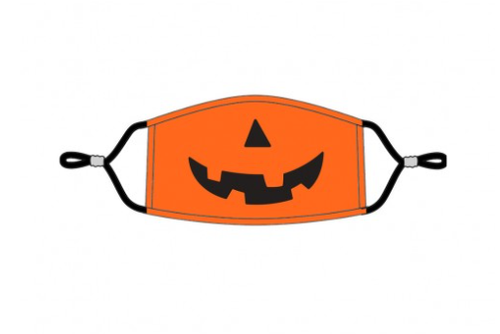 Jack-O-Lantern Kids' Adjustable Mask