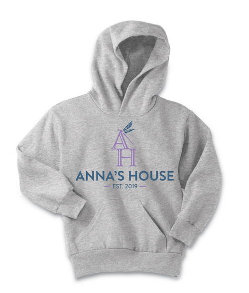 Anna's House Fleece Pullover Hooded Sweatshirt