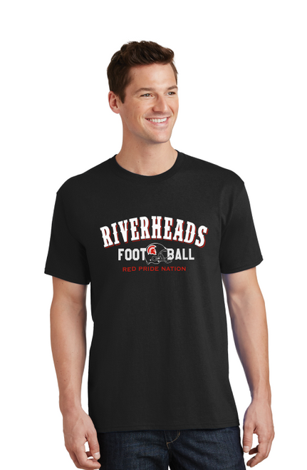 Riverheads Football Cotton Tee