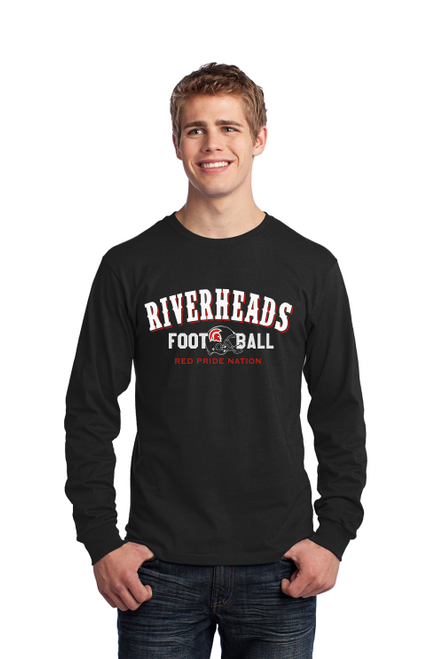 Riverheads  Football Long Sleeve  Cotton Tee