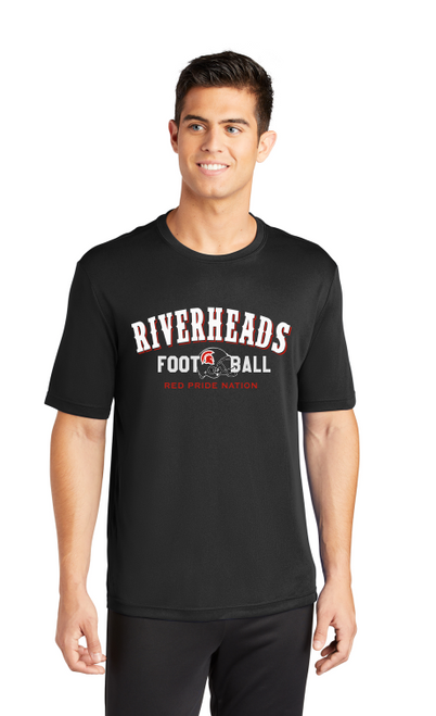 Riverheads Football Wicking Tee