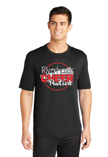 Riverheads Cheer Wicking Tee