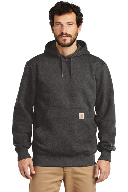 Carhartt ® Rain Defender ® Paxton Heavyweight Hooded Sweatshirt - Carbon Heather