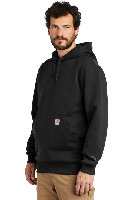 Carhartt ® Rain Defender ® Paxton Heavyweight Hooded Sweatshirt - Black