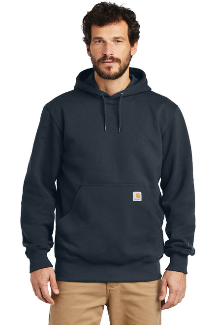 Carhartt ® Rain Defender ® Paxton Heavyweight Hooded Sweatshirt  - New Navy