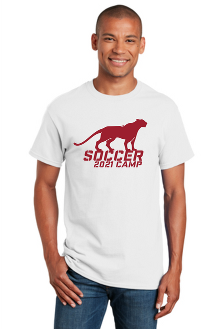 Cougars Soccer Camp Cotton Tee