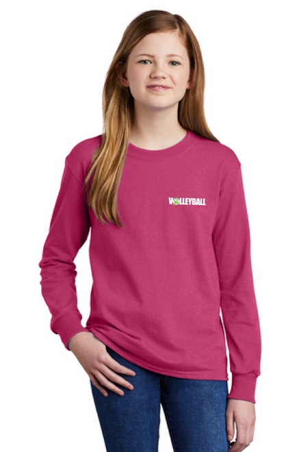 Pink Out Youth Long Sleeve Tee