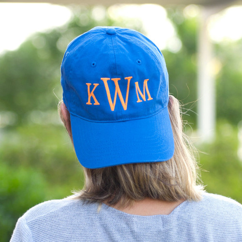 Cotton Ball Cap~Royal Blue