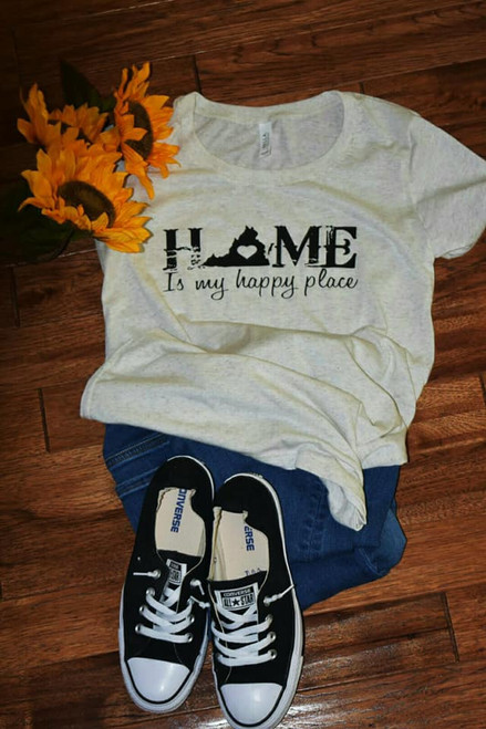 Home is my Happy Place T-Shirt