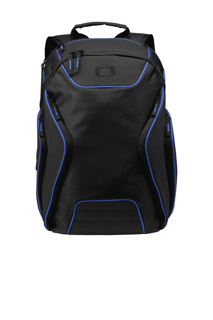 OGIO ® Hatch Electric Blue/Heather Grey Backpack