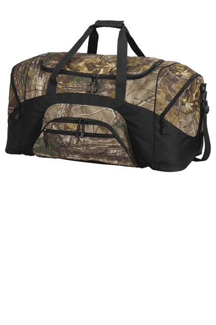 Port Authority® Camouflage Colorblock Sport Duffel