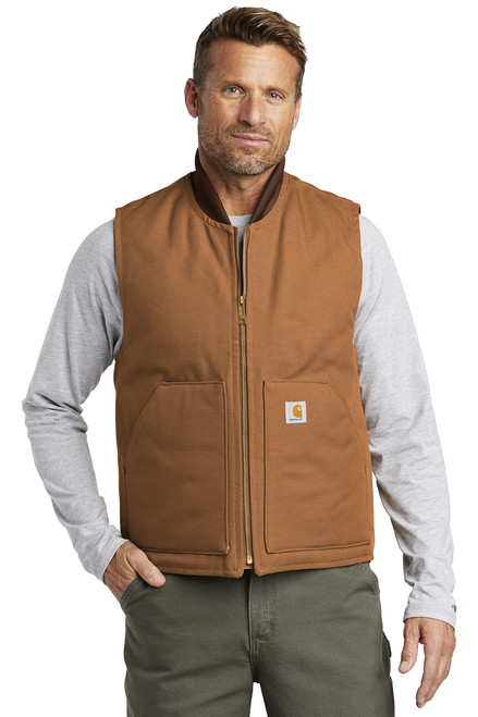 Duck Vest ~ Carhartt Brown