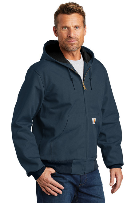 Thermal-Lined Duck Active Jac ~ Dark Navy