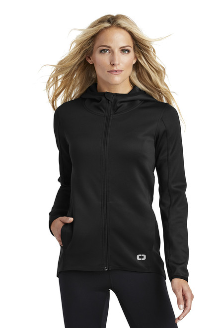 Ladies Stealth Full-Zip Jacket ~ Black